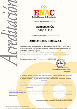 Laboratorio Acreditado Enac