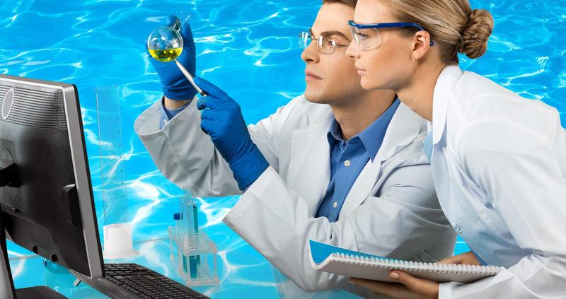 bacterias en piscinas